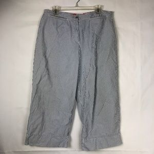 Chico's Women's Size 1 ( M / 8 ) Capri Pants 68E